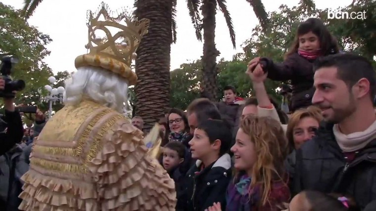 Els Reis Mags arriben carregats d'il·lusió i regals