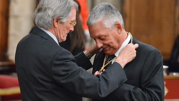 L'hoteler, mecenes i col·leccionista Jordi Clos rep la Medalla d'Or al Mèrit Cultural