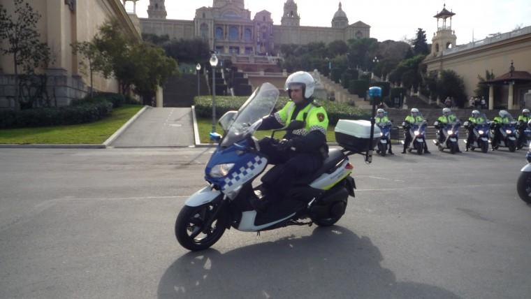 La Guàrdia Urbana modernitza la flota de motos