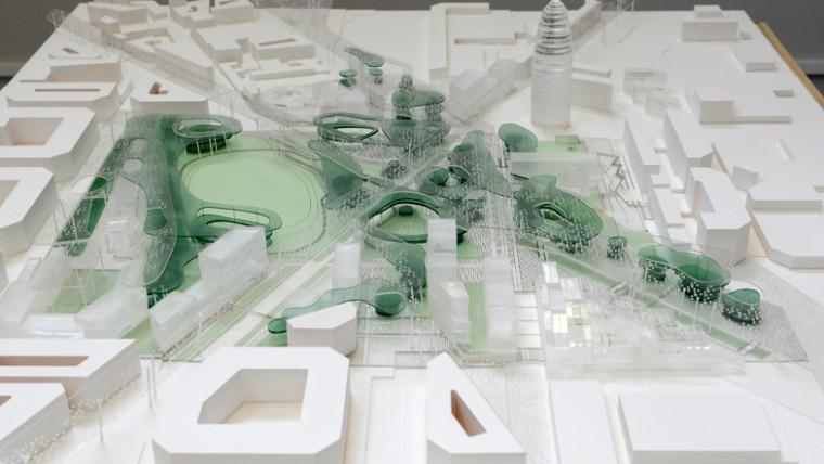 La proposta guanyadora per transformar les Glòries aposta per la reintroducció de la natura a la ciutat