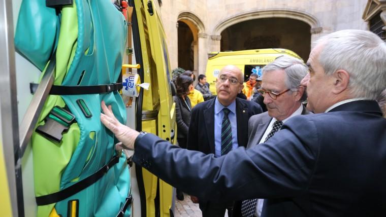 Barcelona renova la flota d'ambulàncies