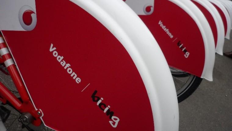 Vodafone es converteix en patrocinador exclusiu del Bicing