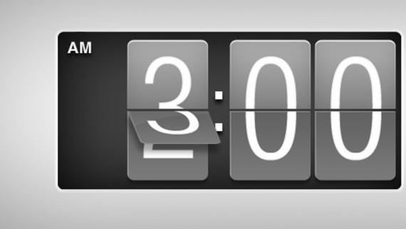 rellotge canvi d'hora