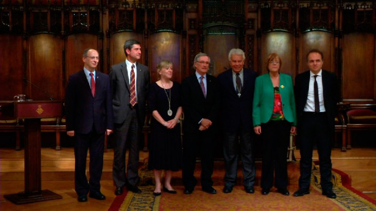 Reconeixement als valors de la democràcia europea