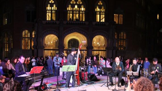 Música i ball al Recinte Modernista de Sant Pau