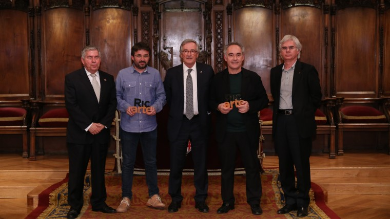 Premiada la creativitat de Ferran Adrià i Jordi Évole