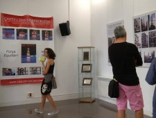 Permanent exhibition on festival imagery