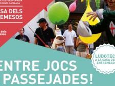 """Ludoteca en la Casa de los Entremeses: """"¡Entre juegos y paseos!"""""""