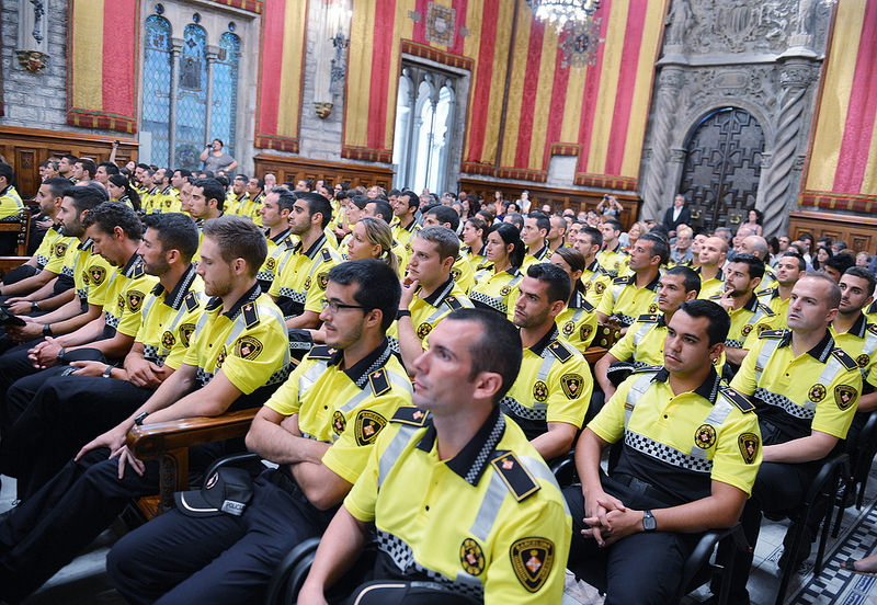 109 New Guàrdia Urbana Police Officers At The Service Of Barcelona