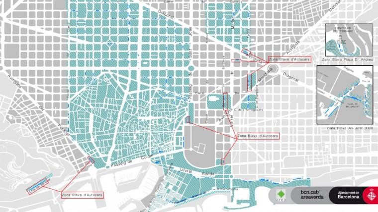 Zona Verde Gratuita Durante El Mes De Agosto Info Barcelona