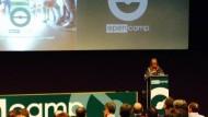 Acte de presentació del projecte Open Camp a Barcelona