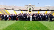 Foto oficial Open Camp a l'Estadi Olímpic