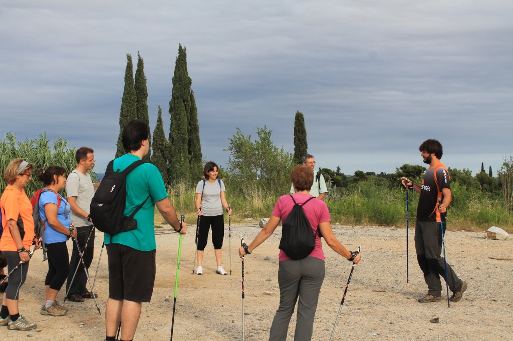 Enjoy The Benefits Of Nordic Walking Guàrdia Urbana De Barcelona