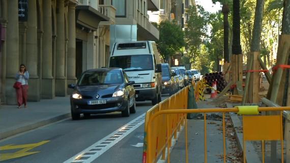 Obres avinguda Diagonal