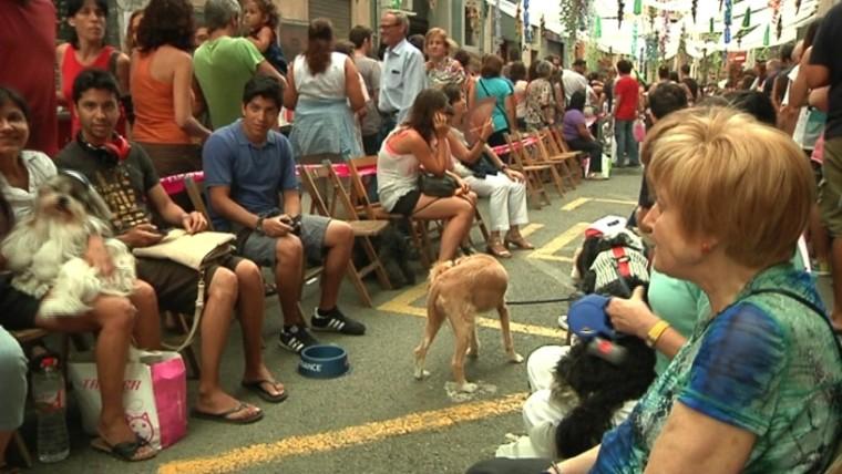 La Festa Major de Gràcia viu les tardes més familiars