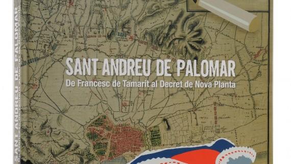 Coberta del llibre 'Sant Andreu de Palomar 1640-1716'