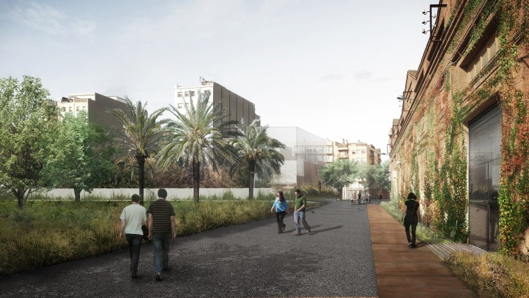 Can Batlló s'urbanitza i tindrà nous usos ciutadans