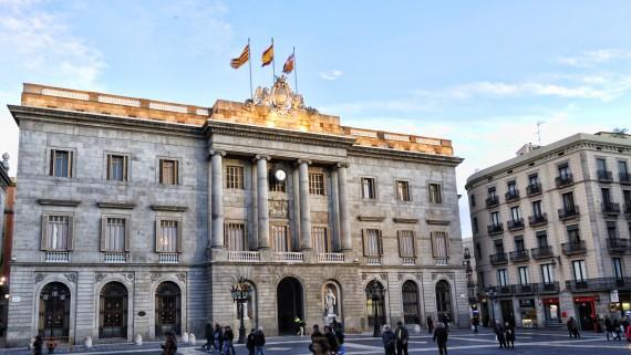 Recurs façana Ajuntament de Barcelona