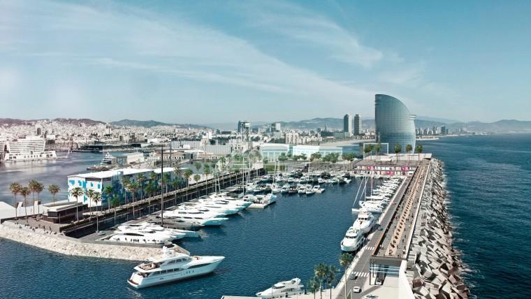 Comença la construcció de la Marina Vela que serà una realitat el 2016