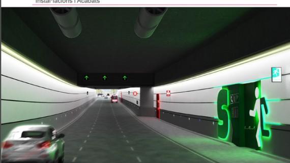 Render túnel Glòries