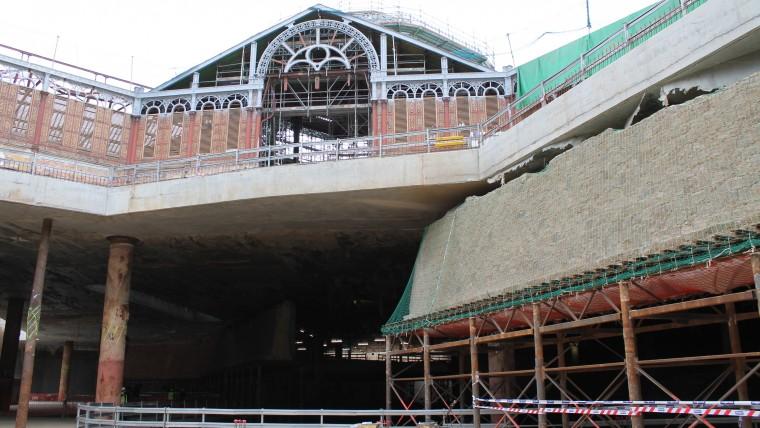 La reforma del Mercat de Sant Antoni avança cap a la fase final