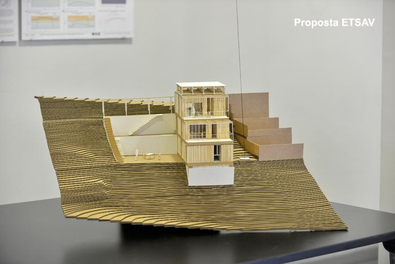 Les escoles d 39 arquitectura de barcelona proposen prototips for Escoles de disseny d interiors a barcelona