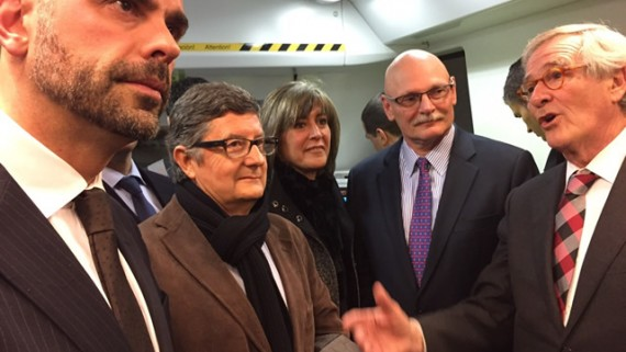Vila, Marín, Hoffman i Trias, a la L9 del metro aeroport
