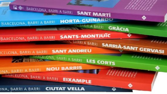 La col·lecció de guies 'Barcelona, barri a barri'