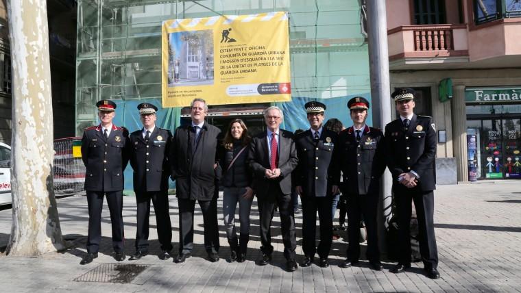 Barcelona tindrà la primera oficina d'atenció conjunta de la Urbana i els Mossos