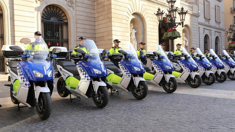 Barcelona, la primera ciutat amb una flota de motos totalment elèctriques