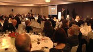 Representants del món comercial, polític i social, a l'entrega dels 23ns Rosa de Plata