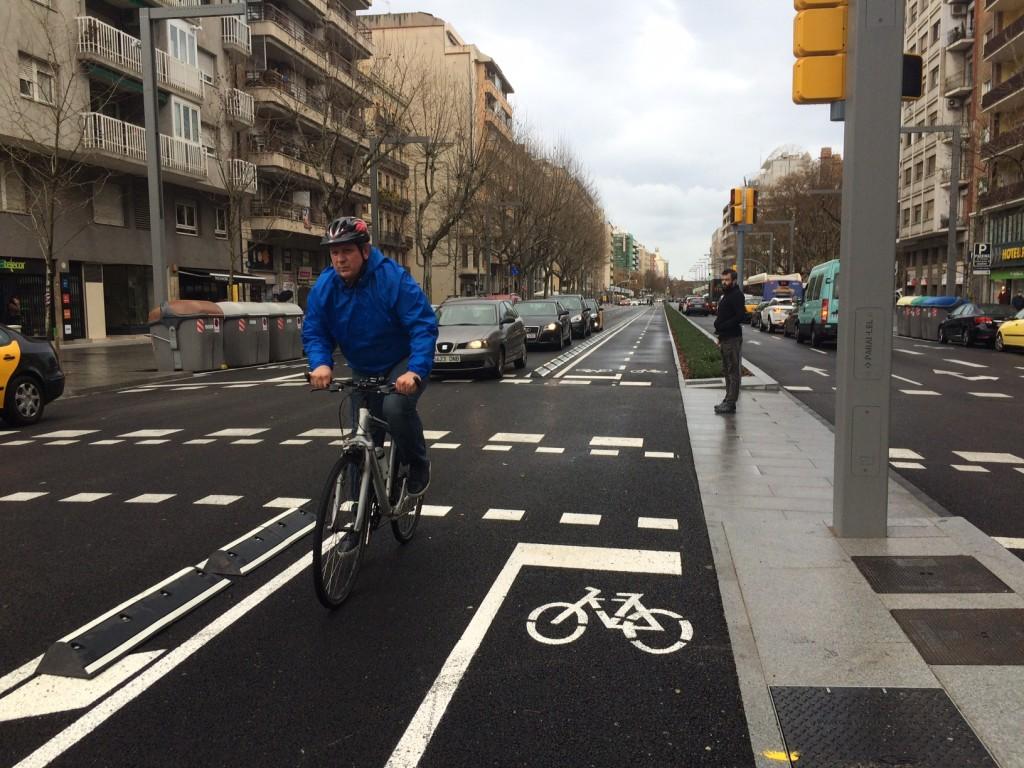 Resultat d'imatges de carril bicicalle numancia