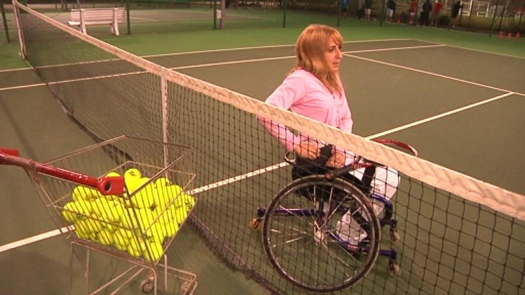 Tennis en cadira de rodes a la vall d hebron cap de setmana bcn - Cadira barcelona ...