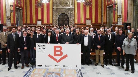 Presentació candidatura al Saló de Cent a càrrec de Xavier Trias