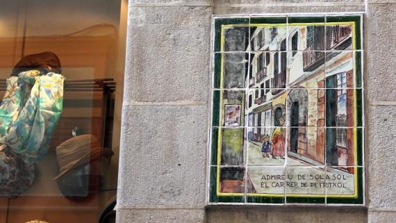 ciutat vella, barri gòtic, història, plaques, auca,