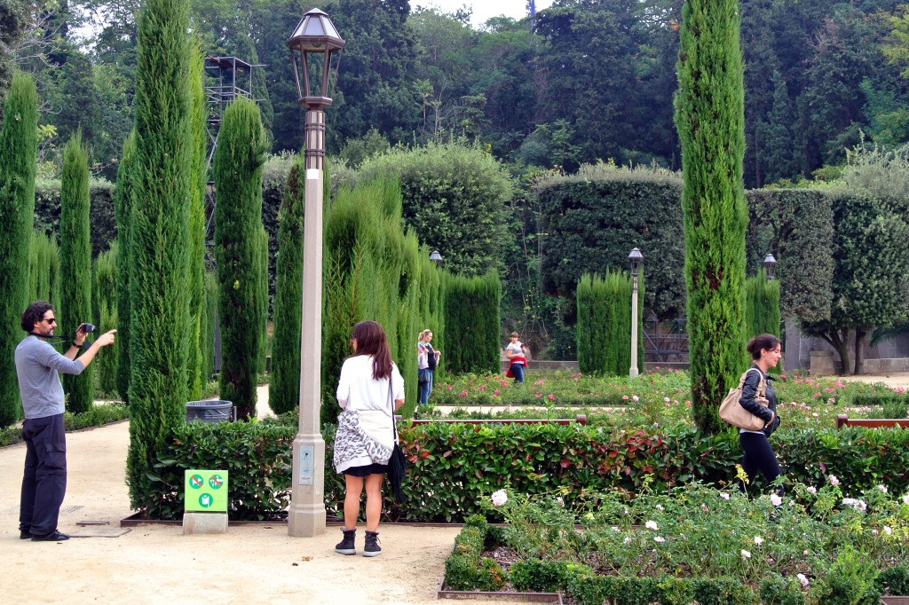 Los jardines del teatre grec reconocidos por su calidad - Jardines de barcelona ...