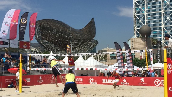 Moll de la Marina, Trofeu Internacional Ciutat de Barcelona de Vòlei Platja, esports