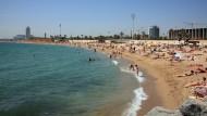 La platja de la Mar Bella