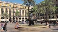 La plaça Reial