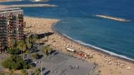 La platja de Sant Sebastià