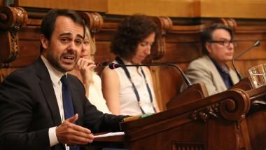 Óscar Ramírez, al darrer plenari