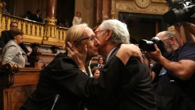 Assumpta Escarp i Xavier Trias, al darrer plenari