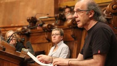 Ricard Gomà, al darrer plenari