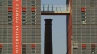Universitat Pompeu Fabra, campus poblenou, 22@, educació