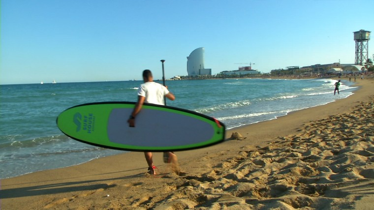 Surfing without leaving Barcelona | Info Barcelona