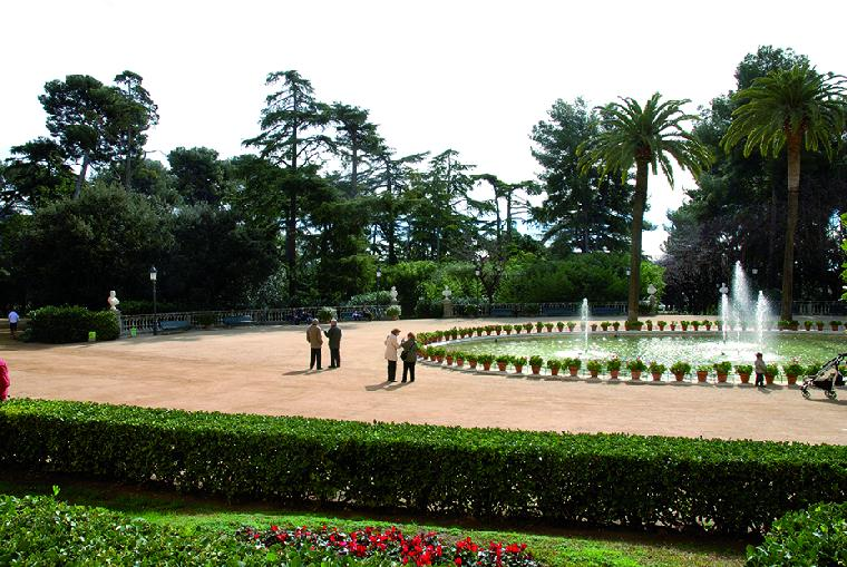 Guidebooks for discovering barcelona at a leisurely pace - Jardins del palau ...
