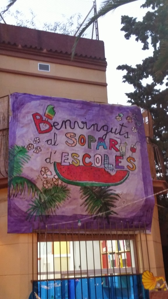 Sopar de les escoles d 39 educaci especial d 39 horta guinard for Escoles de disseny d interiors a barcelona