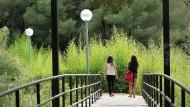 Parc de la Pegaso. Llibre 'Passejades per la Barcelona verda'. foto: Jordi Play