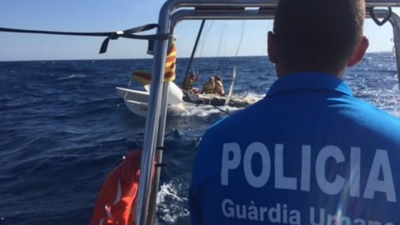 Rescat al mar de la GUB