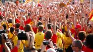Manifestació Via Catalana 2014